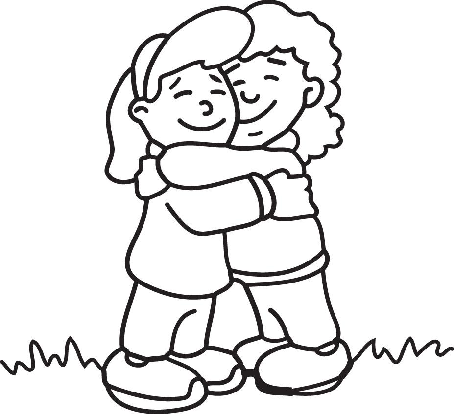 Hug Clipart - Clipart Hugs
