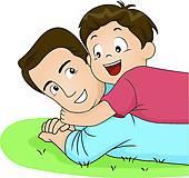 ... Hug Father Son ...-... hug father son ...-16