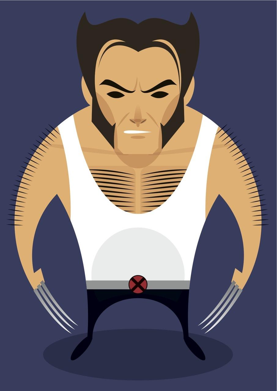 Stanley Chow Illustration (Hugh Jackman -Stanley Chow Illustration (Hugh Jackman as Wolverine)-16