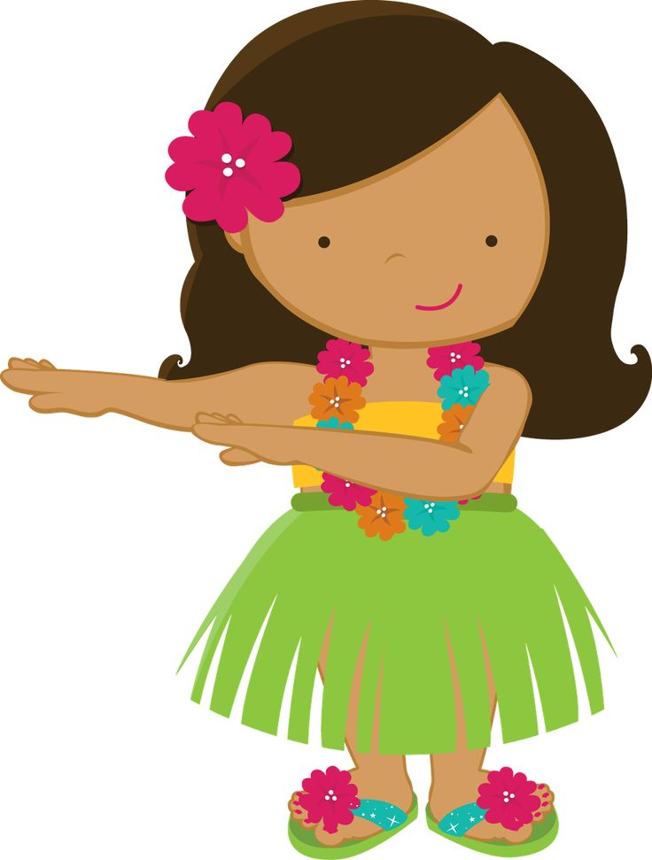 Hula Girl Clipart - Hula Girl Clip Art