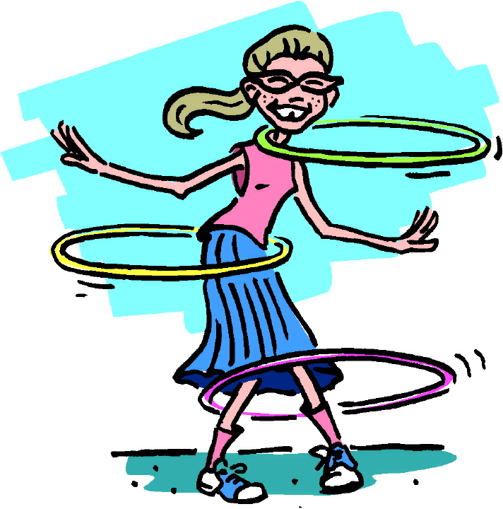 Hula Hoop Clip Art Kids Hula Hula Hoop Clip