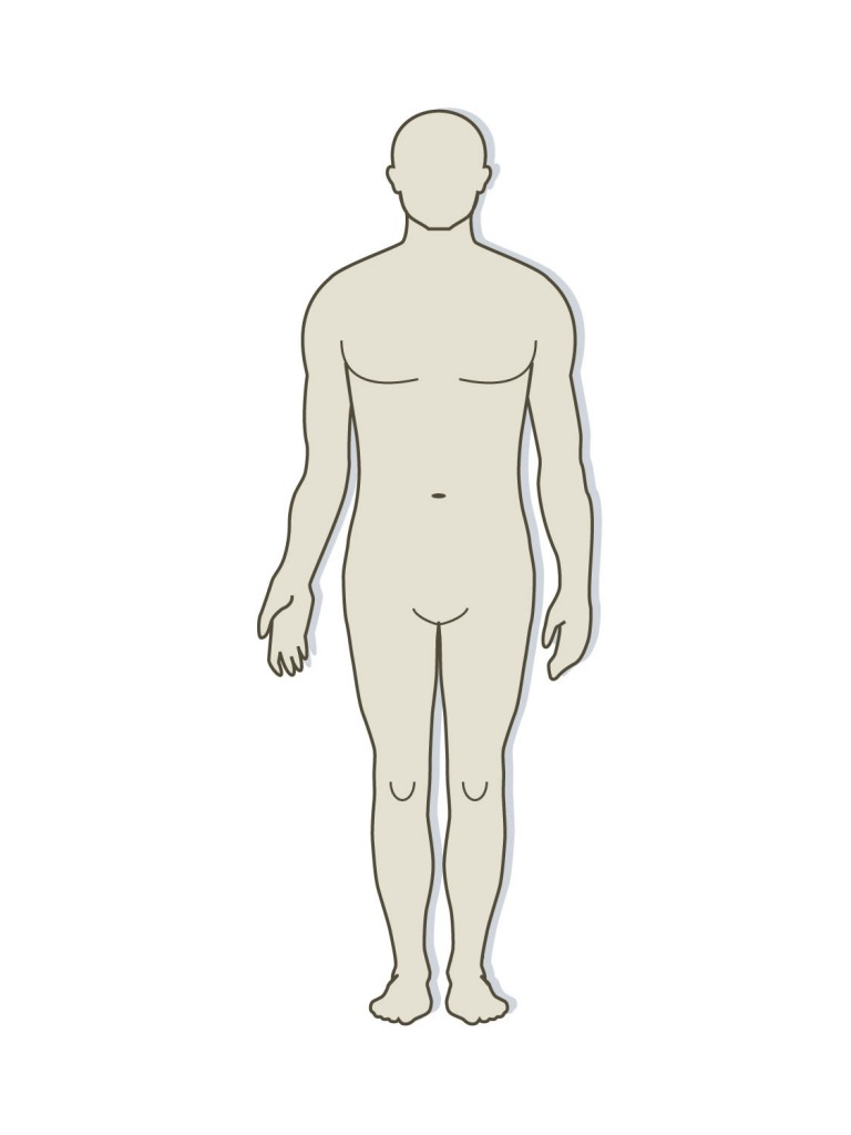 human-body-outline- .