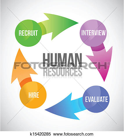 Human Resources Color Cycle Illustration-human resources color cycle illustration-13