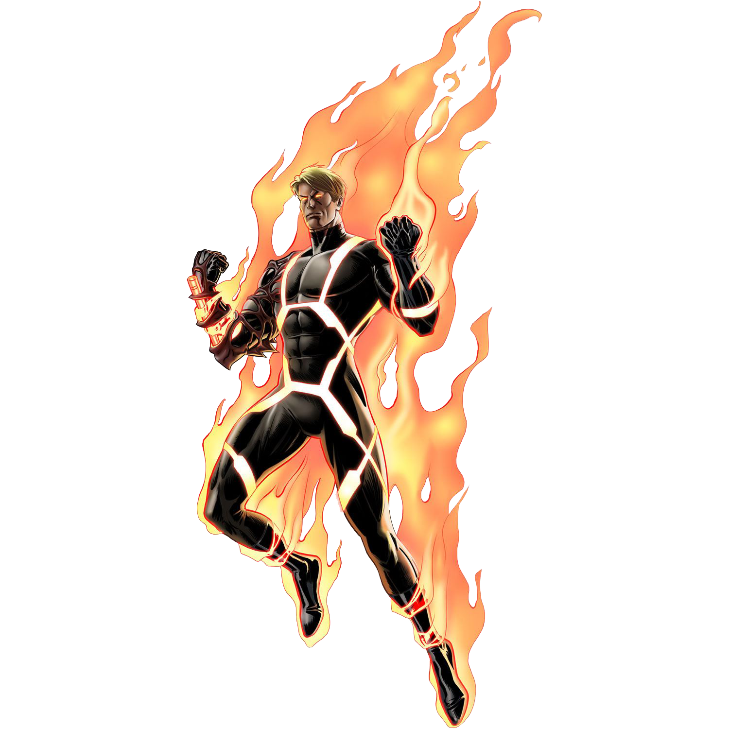 Download PNG image - Human Torch Png Clipart 599