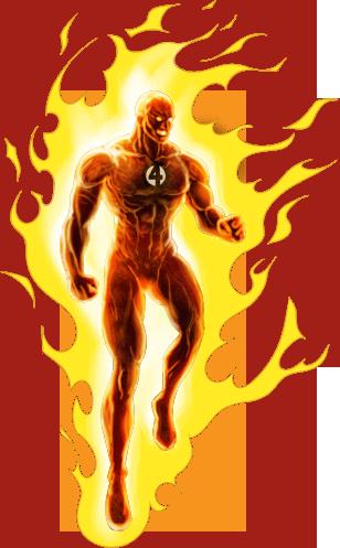 Human Torch Free PNG Image