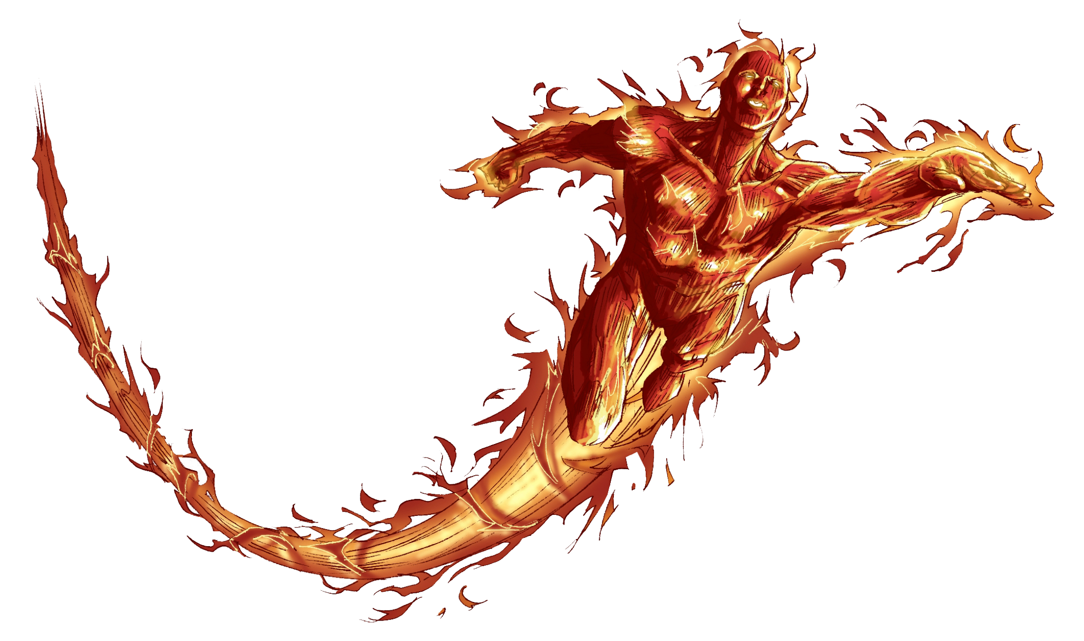 Human Torch Png Hd PNG Image
