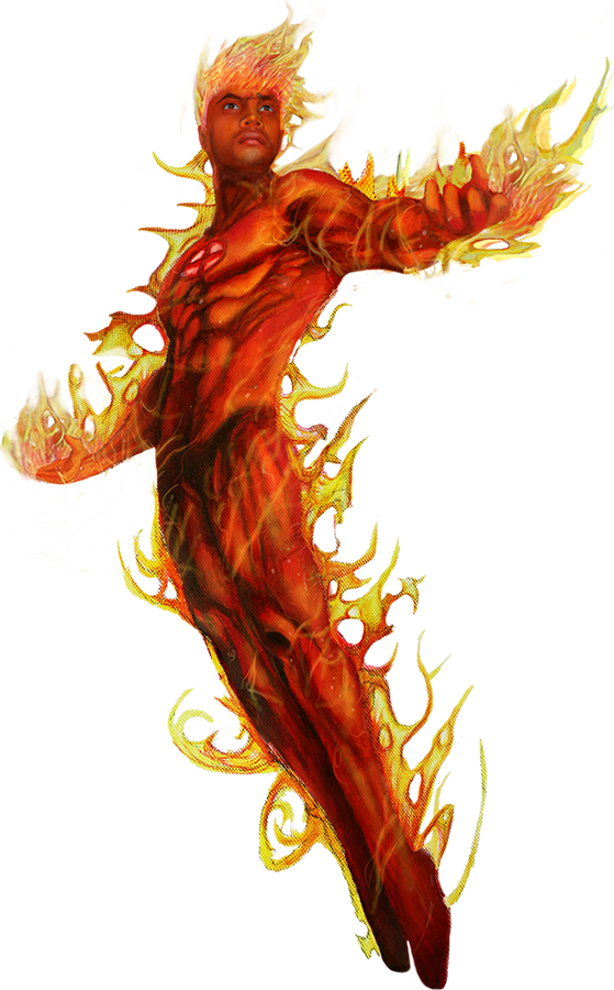 Human Torch PNG Picture