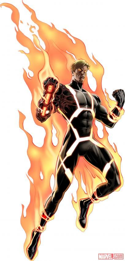 Image result for human torch marvel