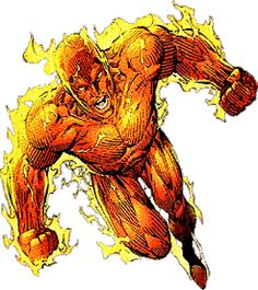 The Human Torch | Marvel Hero - Human Torch Clipart