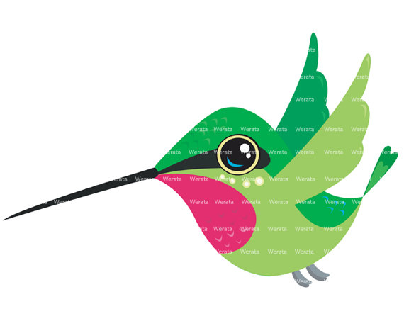 Hummingbird Clipart-hummingbird clipart-9
