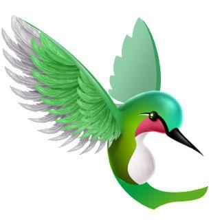Hummingbird clip art vector clip art free image