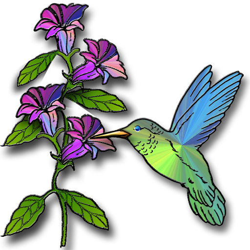 Hummingbird Flowers Clip Art Free Clip Art Icons Of The