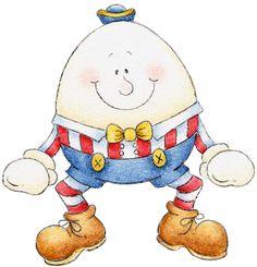 Humpty Dumpty Clip Art .. BEBÉ-COLECCIONES-2 - Tita K ..
