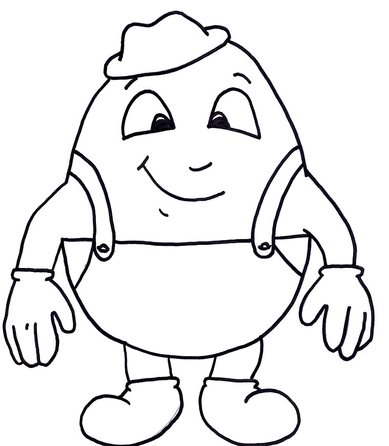 Humpty Dumpty Clip Art - Quarter Clipart; Hang Ten Hand Sign; Hang Ten Hand Sign; Nursery Rhyme Olympics | TSLAC ...