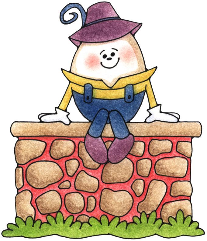 Humpty Dumpty Clipart Black .-Humpty Dumpty Clipart Black .-2