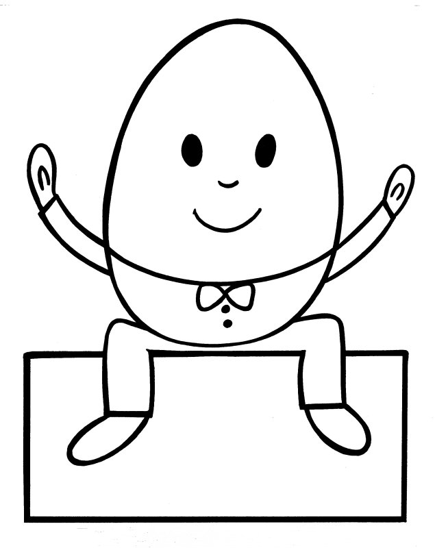 Humpty Dumpty Coloring Pages - AZ Coloring Pages