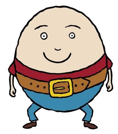... Humpty Dumpty Clipart - c