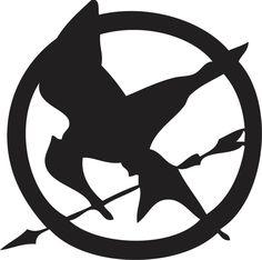 Hunger Games Logo.-Hunger Games Logo.-13