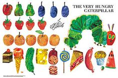 Hungry Caterpillar Clipart - .