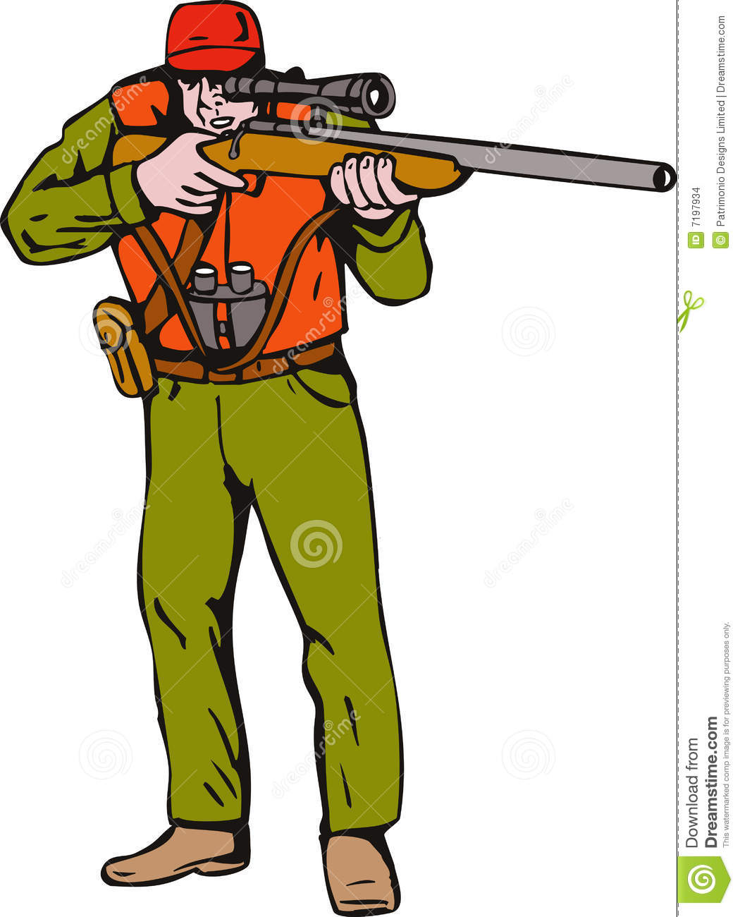 Hunter Clipart-hunter clipart-5