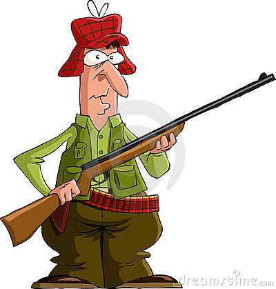 Hunter Clipart-hunter clipart-6