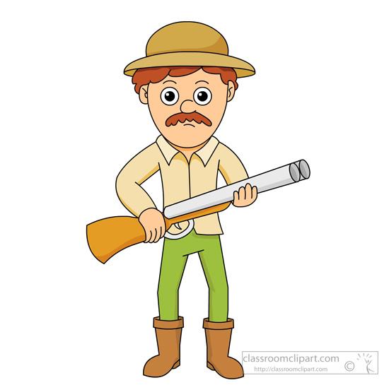 hunter holding a shot gun. Size: 74 Kb F-hunter holding a shot gun. Size: 74 Kb From: Cartoons-18