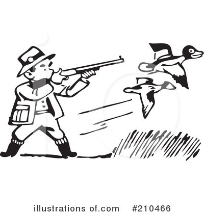 Hunting Clipart 210466 Illustration By B-Hunting Clipart 210466 Illustration By Bestvector-13
