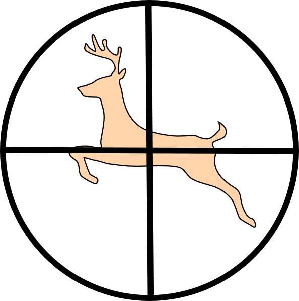 Hunting Deer Clip Art At Clker Com Vecto-Hunting Deer Clip Art At Clker Com Vector Clip Art Online Royalty-7