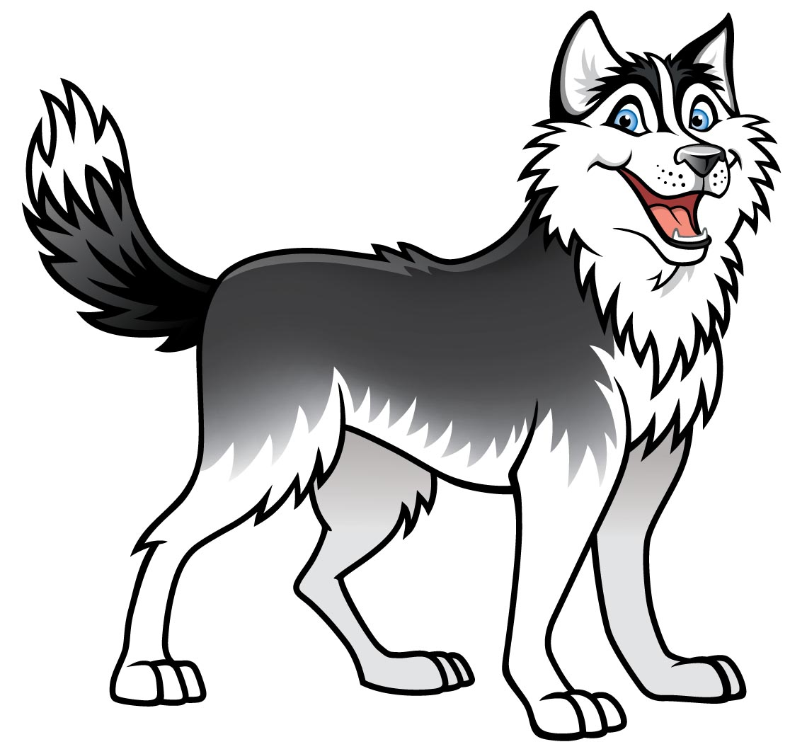 Husky Dog Clip Art