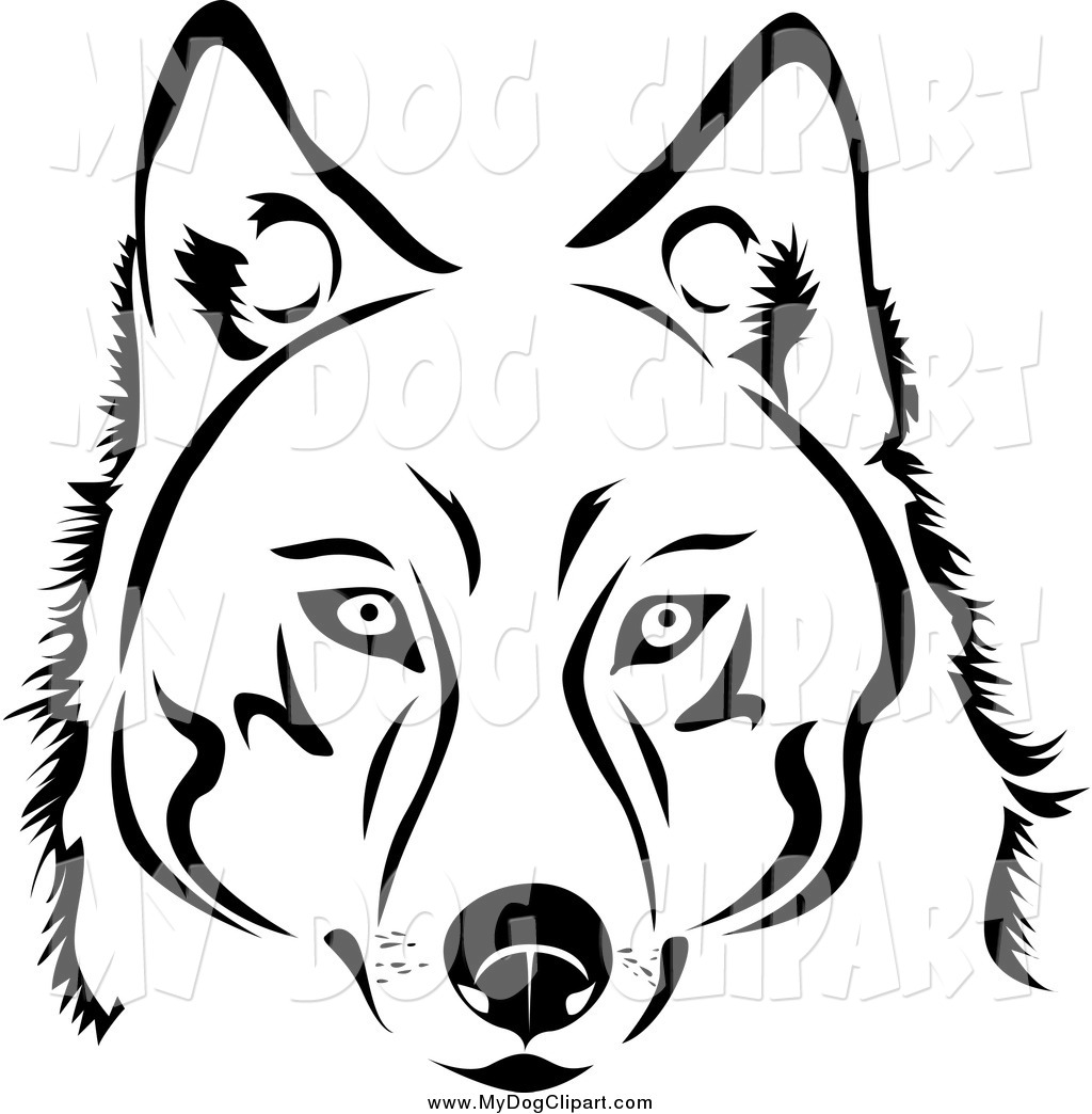 Husky Dog Clipart Viewing Gallery