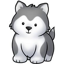 Husky Dog Vector Image Eps Silhouette Pinterest