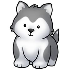 Husky U0026middot; Puppy ClipartAnimals -husky u0026middot; Puppy ClipartAnimals ...-3