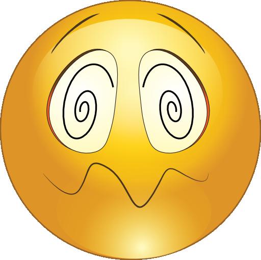Hypnotized Smiley Emoticon .-Hypnotized Smiley Emoticon .-7