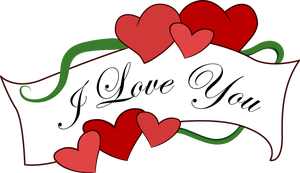 i love you clipart