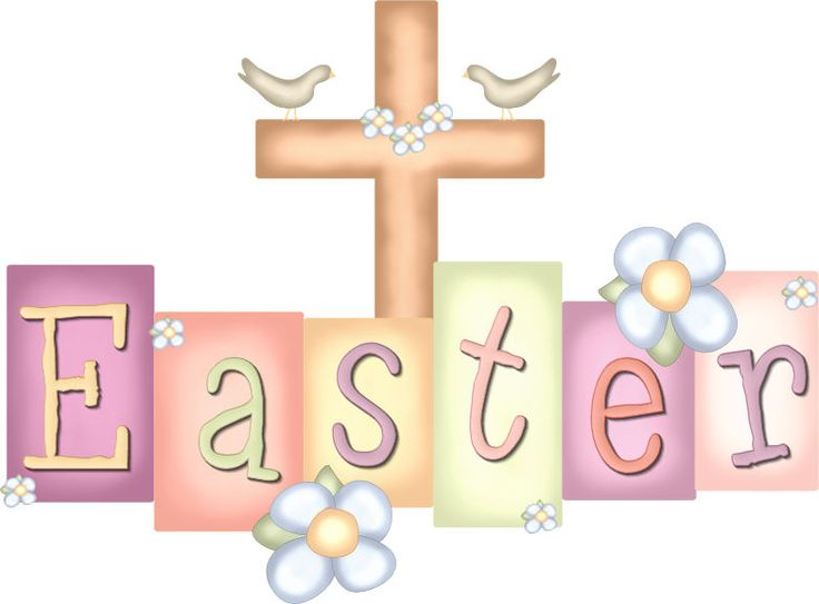 I Love Christian Easter clipart from Trina and Friends