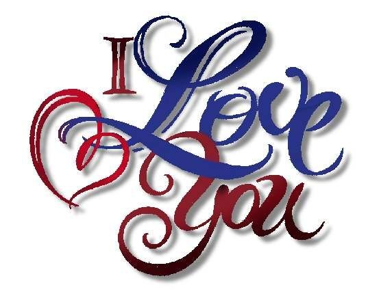 ... I love you clipart animat - I Love You Clipart Animated