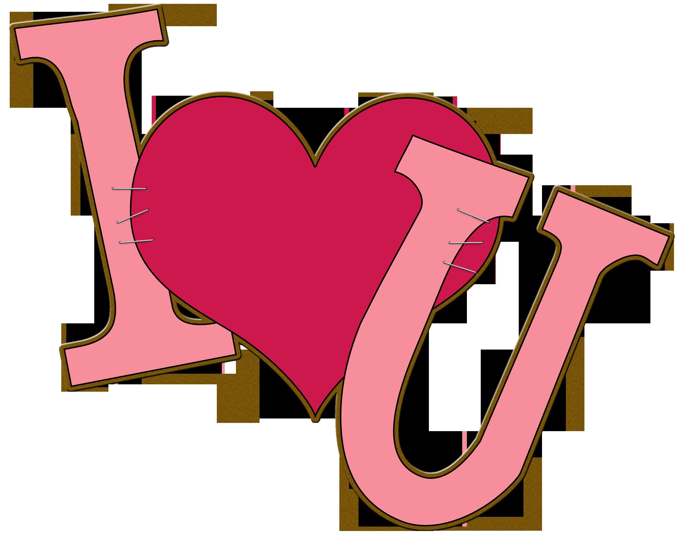 ... I Love You Clipart - clipartall ...