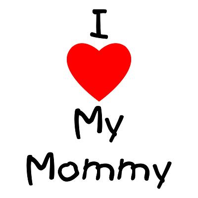 I Love You Mom Clipart Free