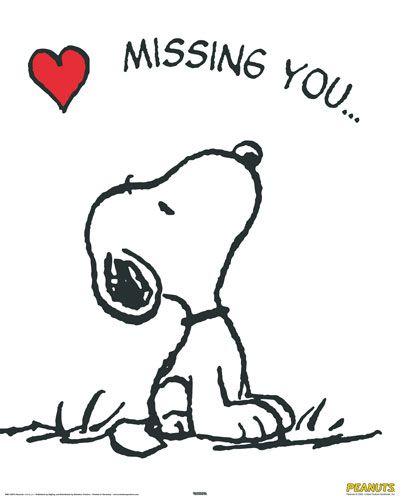 I Miss You Snoopy Clipart- Free Clipart-I Miss You Snoopy Clipart- Free clipart-1