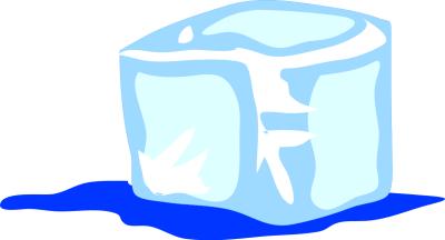 ice cream; ice cube ...