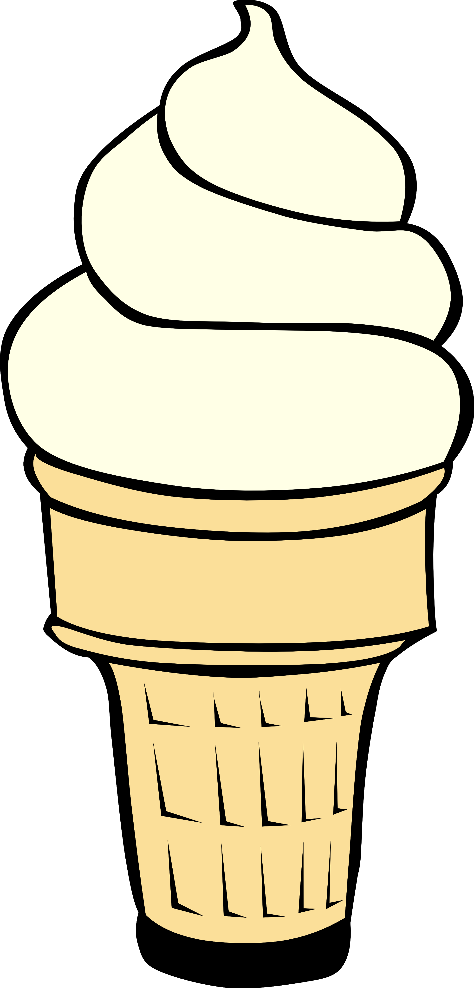 ice cream cone clipart-ice cream cone clipart-19