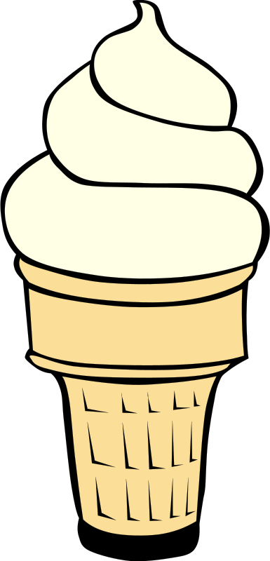 ice cream cone clipart-ice cream cone clipart-4