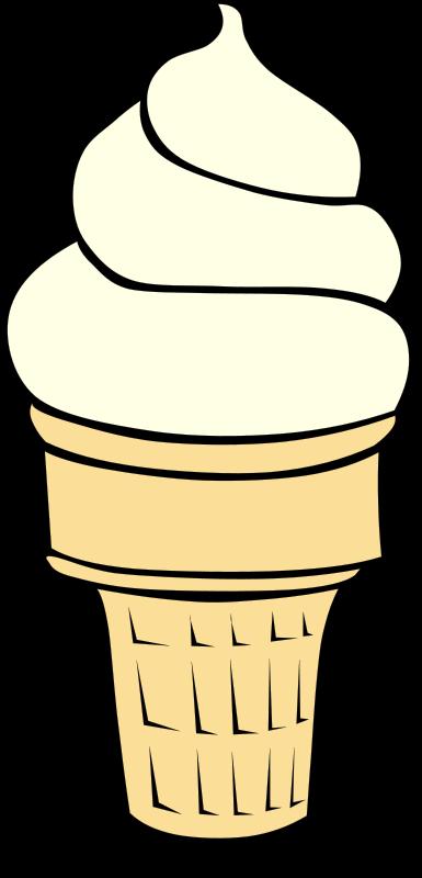 ice cream cone clipart