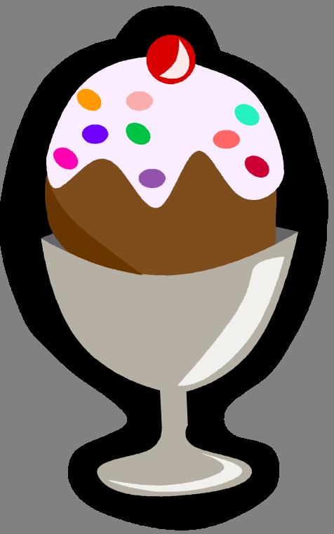 ice cream sundae bowl clipart