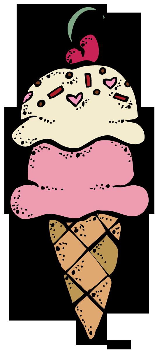 Ice Cream Clipart Free .-Ice cream clipart free .-7