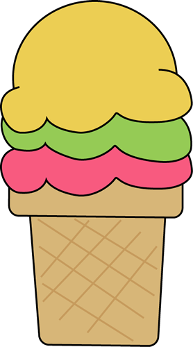 Ice Cream Cone For I Clip Art Image Colo-Ice Cream Cone For I Clip Art Image Colorful Ice Cream Cone For The-12