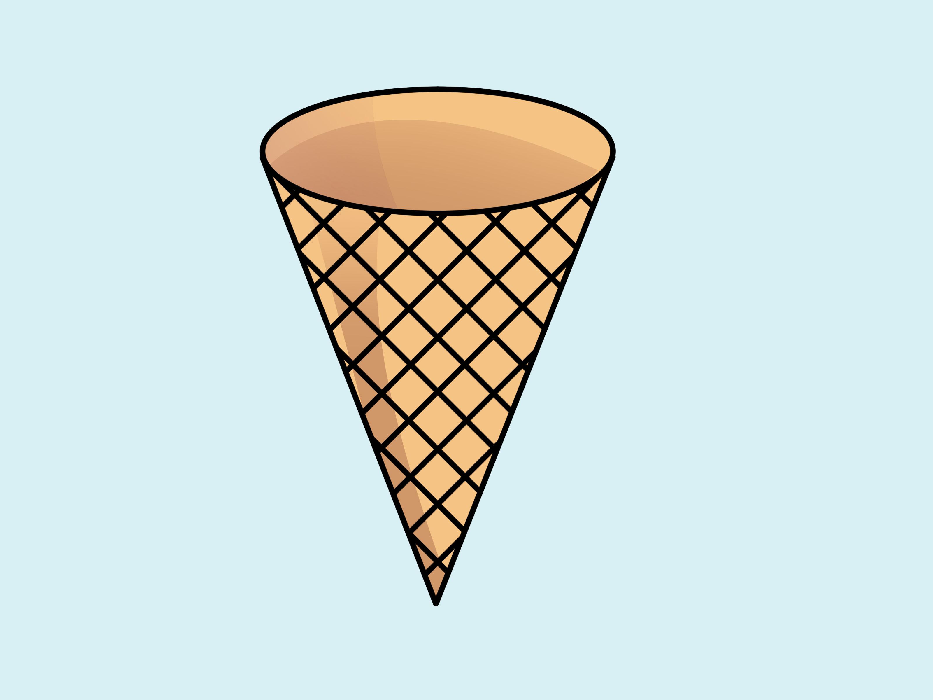 Ice cream cone ice clip art images image-Ice cream cone ice clip art images image 0-8