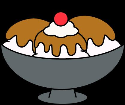 Ice Cream Sundae Clip Art