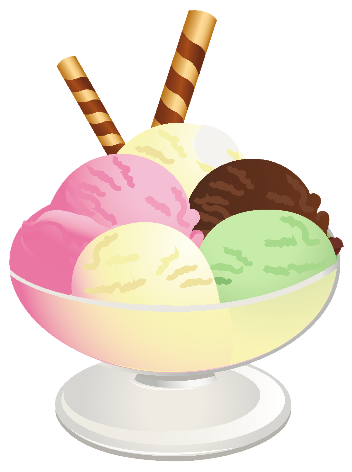 Ice cream sundae clipart cliparts