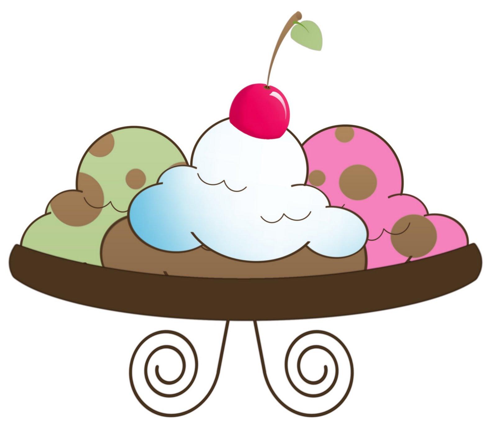 ... Ice cream sundae clipart ...